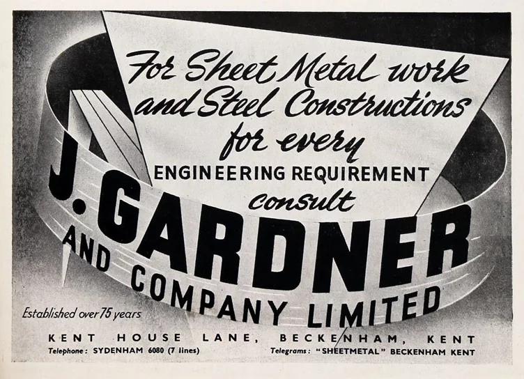 gardner advert