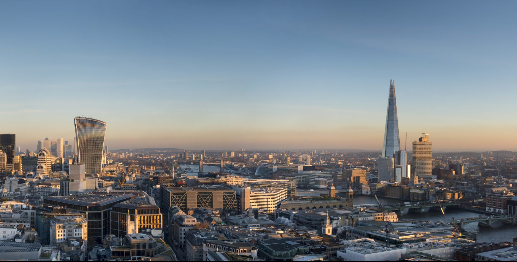 London city and the shard