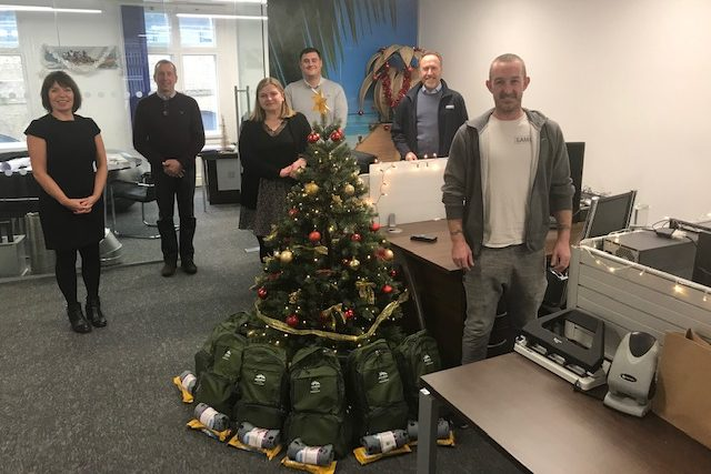 Gardner supports Christmas appeal