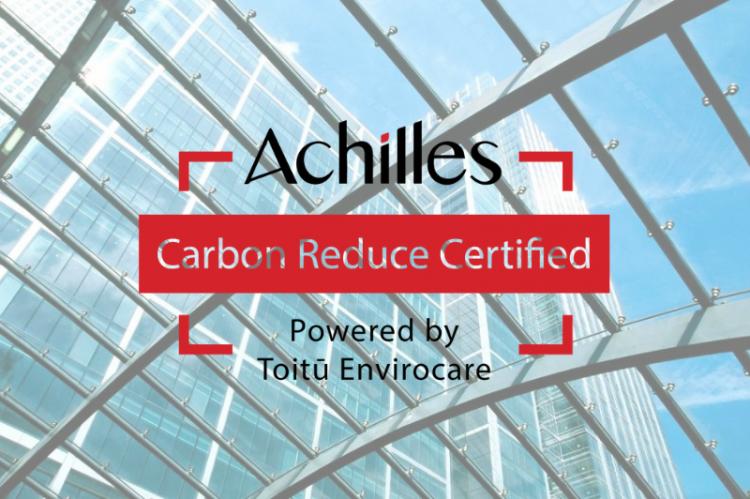 Carbon Zero Certification Achieved